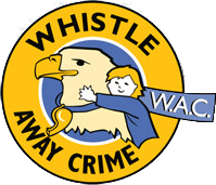 Whistle Away Crime® Eagle and Circle